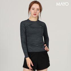 모달 재즈 긴팔 티셔츠 블랙