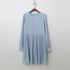 Drama Pleats Mini Dress
