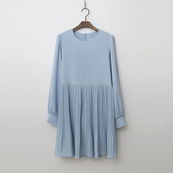 Drama Pleats Mini Dress