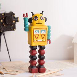 복고 틴 로봇