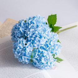 수국 조화(블루)