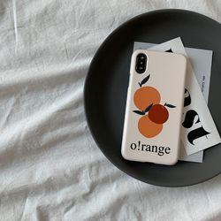 오오렌지 디자인 하드케이스