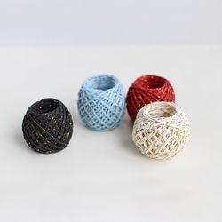 골드 투톤 포장끈(4color)