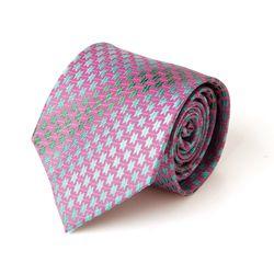 핑크 그라데이션 별패턴 남자 넥타이