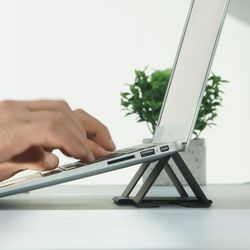 링케 폴딩2 스탠드 노트북 아이패드 태블릿 거치대 마우스패드