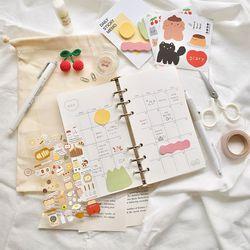 (만년형)String Diary A세트