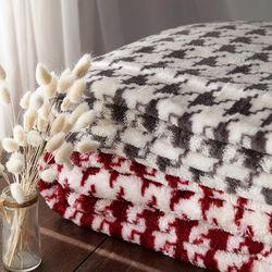 하이퀄리티 패턴 담요130x180