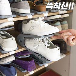 쓱착신2 무빙 슈즈렉 현관 신발정리대 10켤레