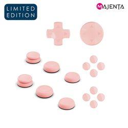 스컬앤코 닌텐도 스위치 핑크 조이콘 D패드 + 썸그립