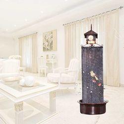 실내분수 가습분수 이앤 사각조명미니폭포 자연가습 미세먼지