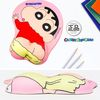 레드 짱구 엉덩이 손목 보호 마우스 패드(p)