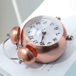 로즈골드 볼 자명종시계(2type)