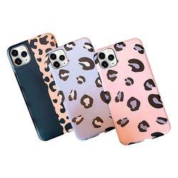 아이폰6 컬러풀 호피 패턴 그립감 젤리 케이스 P484