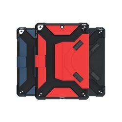아이패드 에어1 스트랩 하드 가죽 태블릿 케이스 T041