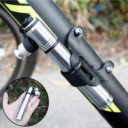 초소형 METAL 휴대용 자전거펌프 미니펌프 공기주입기