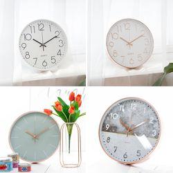 인테리어 생활용품 무소음 벽시계 탁상용 시계 모음전