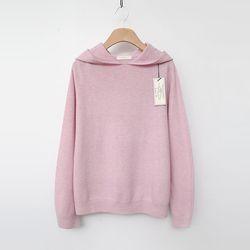 Laine Wool Cashmere Hood Sweater