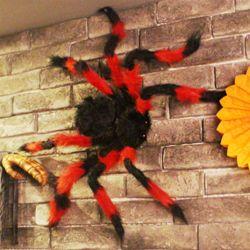 대형 거미모형-[블랙앤레드]