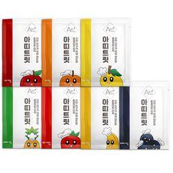 강아지 과일 동결건조 간식 아띠트릿 [기호성 테스트 7종]