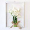 투명 식물 인테리어 액자-카라꽃다발 A3