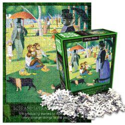 앤서니 브라운 그랑즈트섬의 윌리 직소퍼즐 300피스