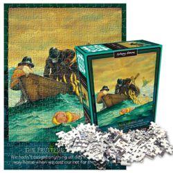 앤서니 브라운 낚시여행 직소퍼즐 300피스