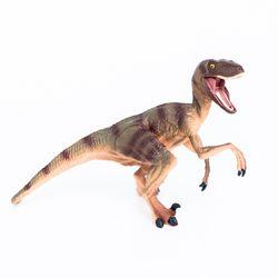 핑토 무독성 벨로키랍토르 공룡 피규어 장난감