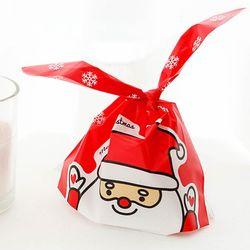 포포팬시 헬로산타 크리스마스 보자기 포장팩 중 4매