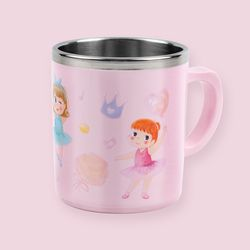 어린이집 물컵 리틀발레리나 논슬립 스텐컵