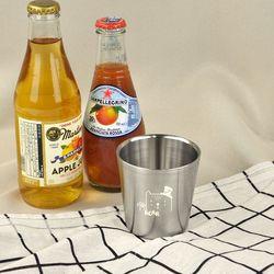 어린이집 물컵 아이쥬(곰) 스텐이중컵