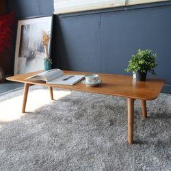 현대가구 원목 접이식 소파테이블 티테이블