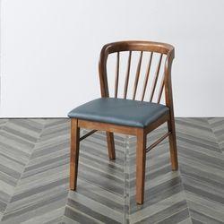 현대가구 고무나무 원목 식탁 까페 의자
