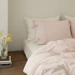 미스티 린넨 베딩-pale pink(Q-풀세트)