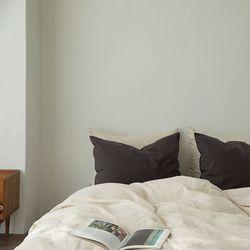 미스티 린넨 베딩-light beige(Q-기본세트)