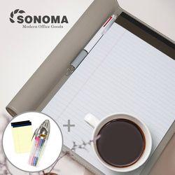 소노마 소프트 A4 노트패드 절취노트 30매 3권 스페셜세트
