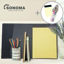 소노마 하드 A4 노트패드 절취노트 30매 3권 스페셜세트