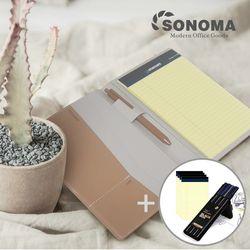 소노마 하드 B5 노트패드 절취노트 50매 5권 스페셜세트
