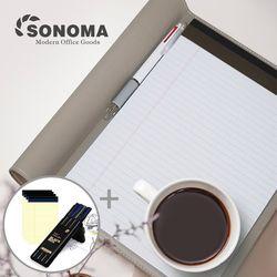 소노마 소프트 A4 노트패드 절취노트 50매 5권 스페셜세트