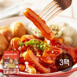 썬더버드 클린떡볶이(냉동) 450g (어묵 + 현미떡) 3팩