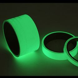 2cm x 3m 야광 형광 축광테이프 반사테이프