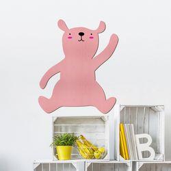 우드스티커 귀여운곰 (컬러완제품) W552