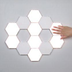 힐유 벌집조명 DIY 터치 LED 인테리어 조명(조명6개+아답터)