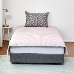 눈뜨니아침꿀잠패드(150X200)핑크그레이