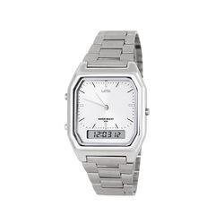 빈티지 뉴트로 메탈 디지털 시계 실버(AG2G0402MASS)