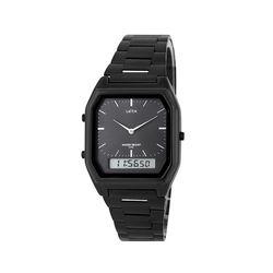 빈티지 뉴트로 메탈 디지털 시계 블랙(AG2G0402MABB)