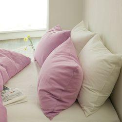 미스티 린넨 베딩-lilac pink(Q-풀세트)