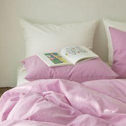 미스티 린넨 베딩-lilac pink(K-기본세트)