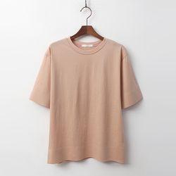 Basic Cotton Tee - 반팔