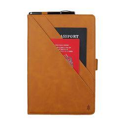 갤럭시탭S6 5G 스토어 카드 가죽 태블릿 케이스 T007