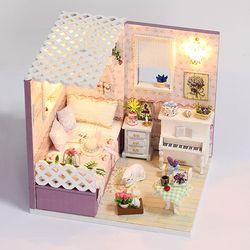 DIY 미니어처하우스 핑크 프린세스 룸
